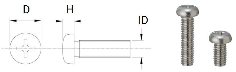 Screw standard ISO / JIS