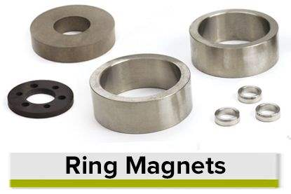 Ring Shaped Permanent Magnets
