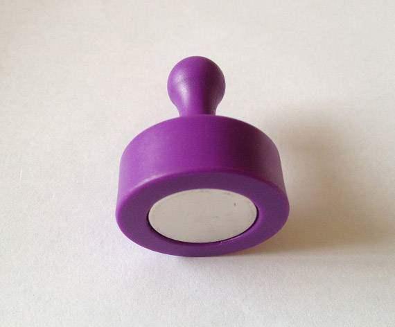 purple Magnetic Push Pins