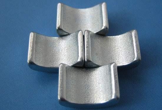 Neodymium Arc Segment Magnets China Rare Earth Permanent