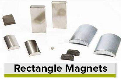 Rectangle Shaped Permanent Magnets