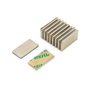 Adhesive 20 x 10 x 1.5mm thick N42 Neodymium Magnet