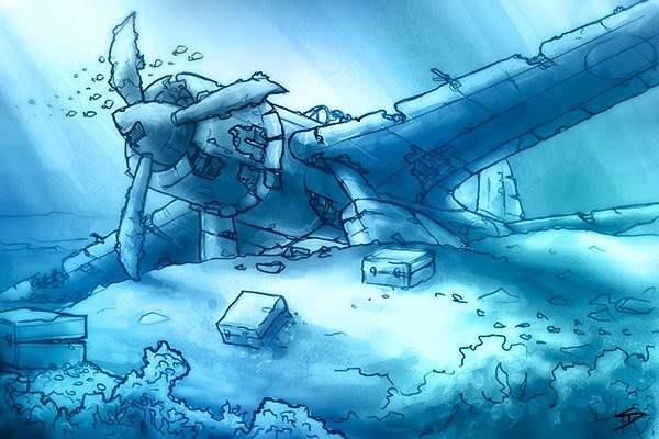 Under water treasure