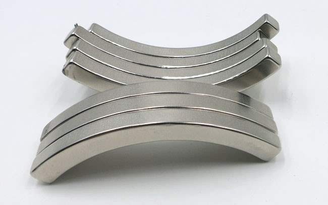N42H Neodymium Arc Motor Magnets