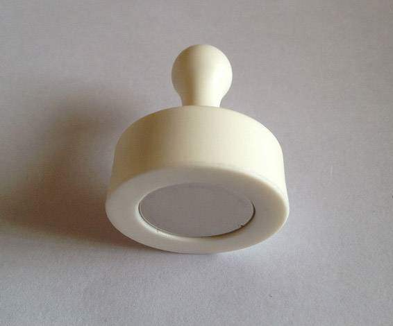 white Magnetic Push Pins