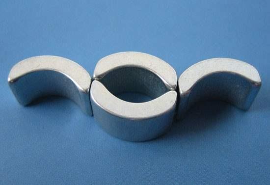 arc segment magnets