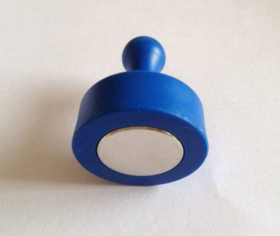 Blue Magnetic Push Pins