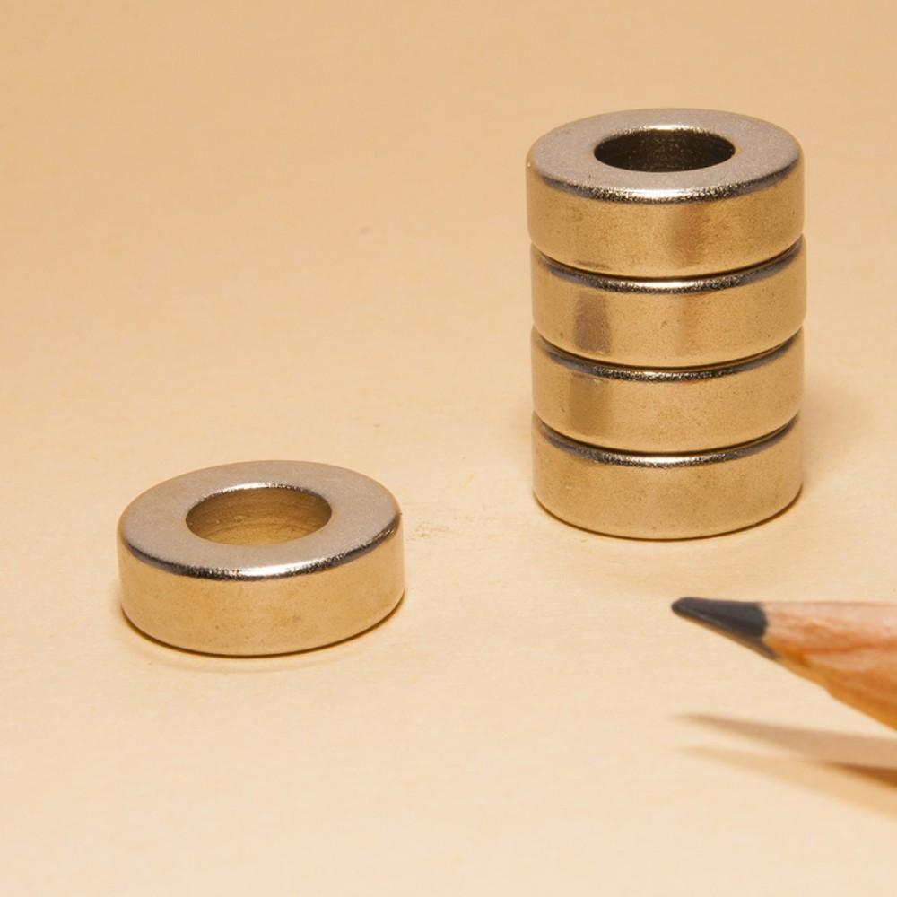 Ring Shaped Neodymium Magnets N48 OD12xID6x4 - Neodymium Ring Magnets