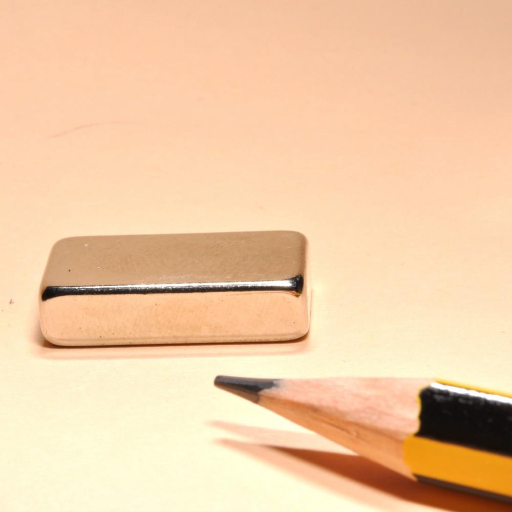 Block Magnet Neodymium Rare Earth  N35 20X10X5 - Neodymium Block Magnets