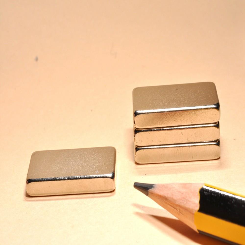 Neodymium Super Bar Magnets N35 20X10X3 - Neodymium Block Magnets