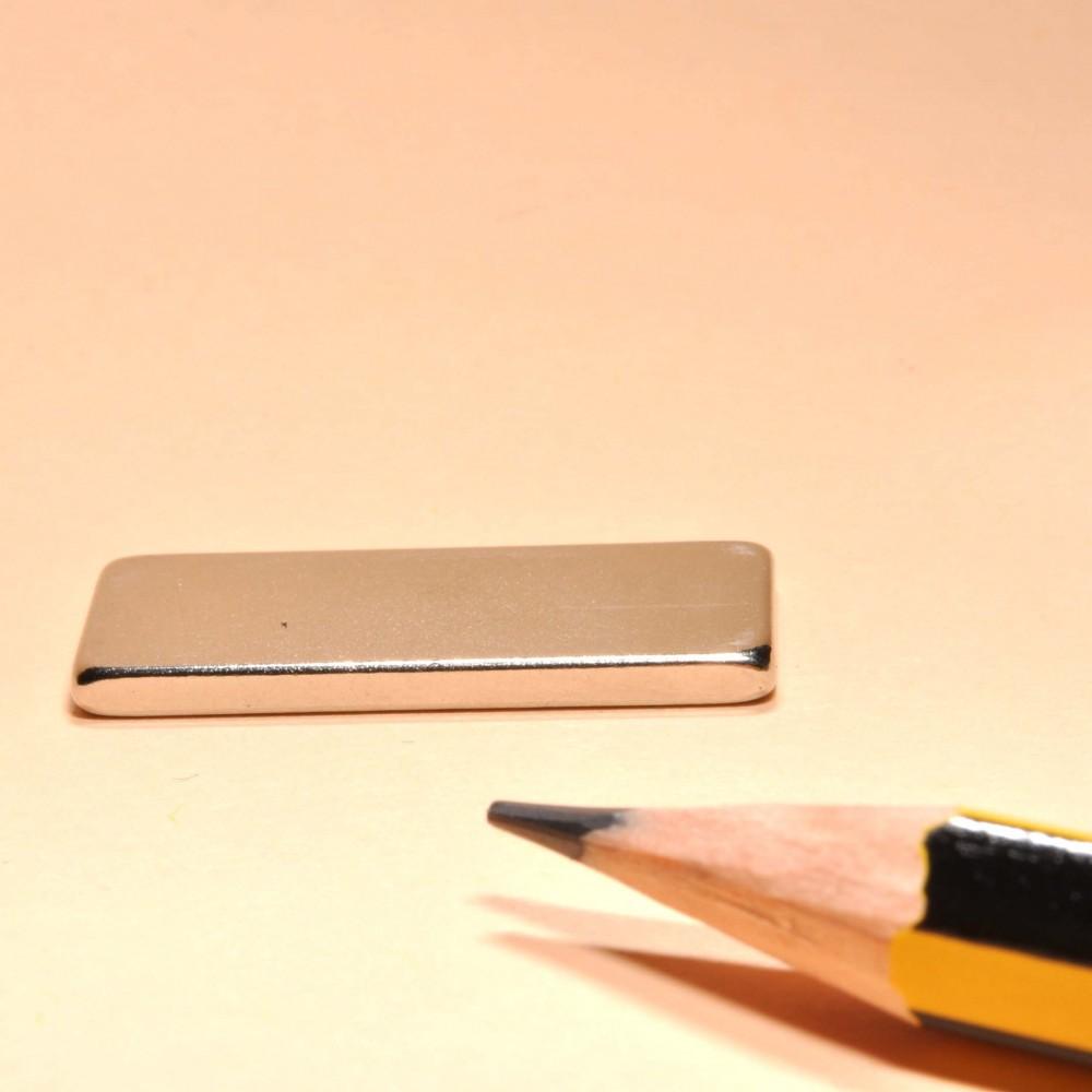 Block Neodymium Powerful Magnets N35 40X22X2 - Neodymium Block Magnets