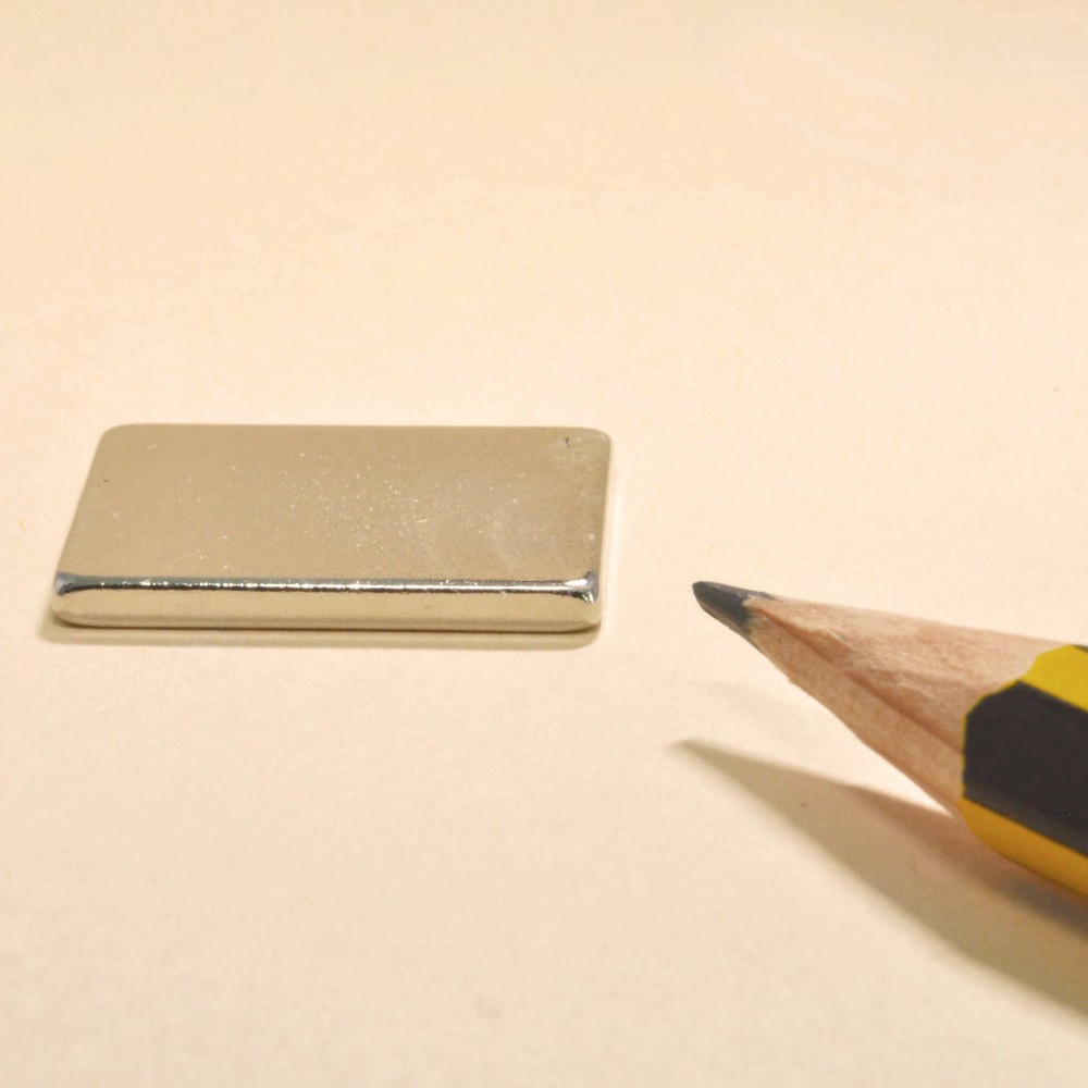 Rare Earth Block Magnets N52 20X15X2 - Neodymium Block Magnets
