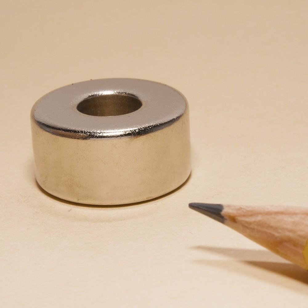 Super Neodymium Ring Magnet for Speaker N35 OD20xID8x10 - Neodymium Ring Magnets