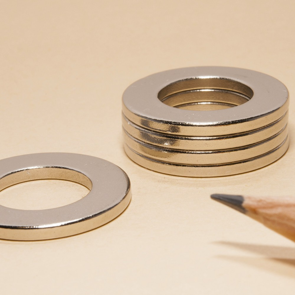 Neodymium Magnets Ring-shape N35 D23x13x2 - Neodymium Ring Magnets
