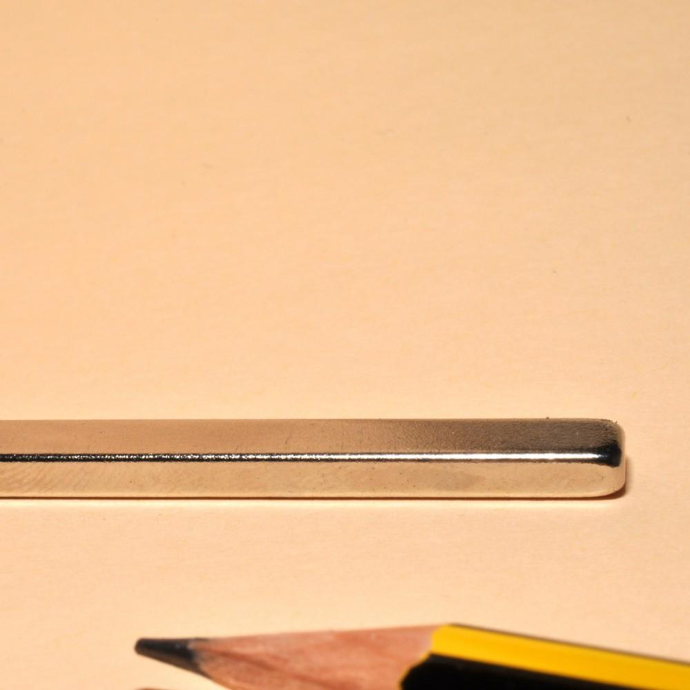 Block Magnet Rare Earth Neodymium N35 50X5X3 - Neodymium Block Magnets