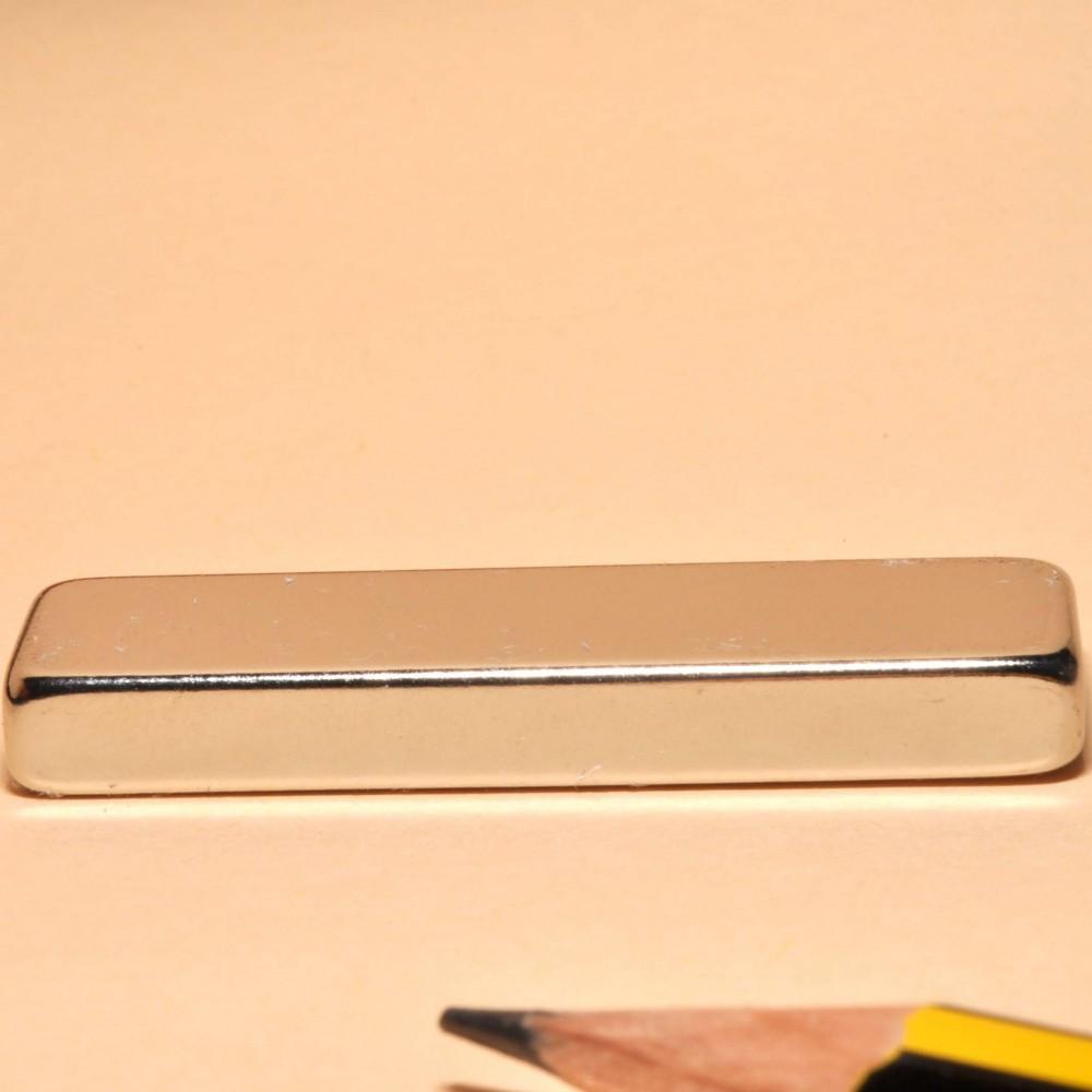 Neodymium Super Bar Magnets N35 40X10X5 - Neodymium Block Magnets