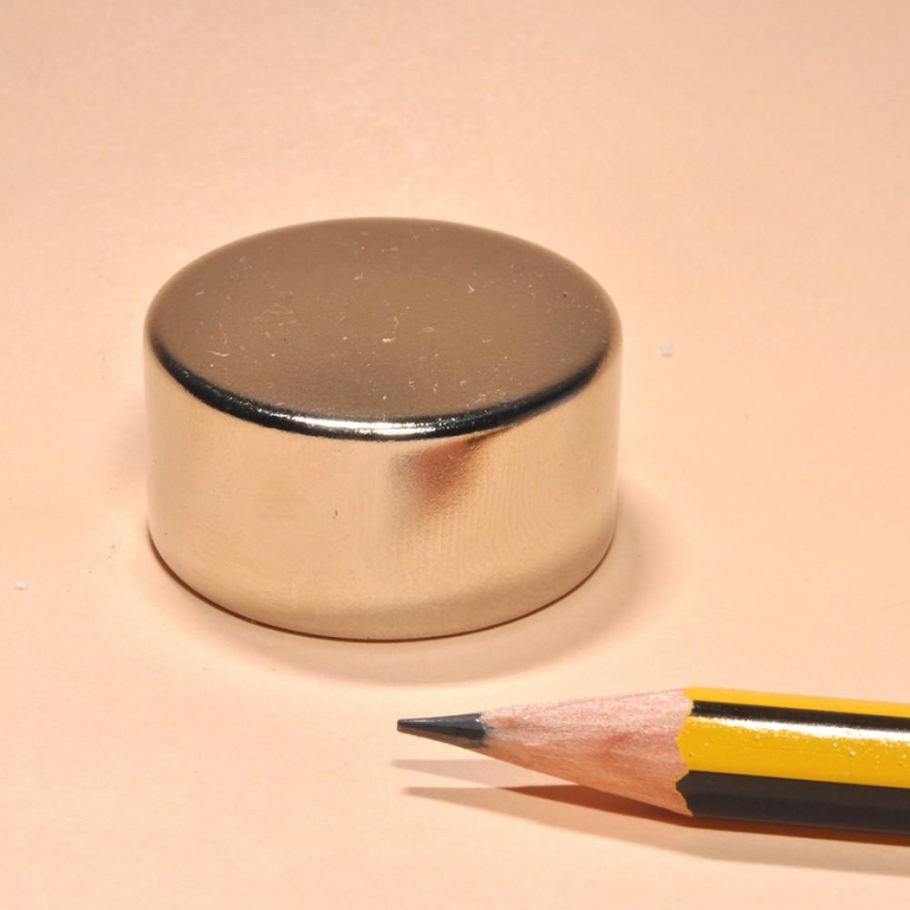 Super Strong Neodymium Magnet Cylinder N35 D30x15 - Neodymium Disc Magnets