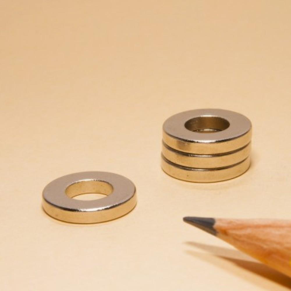 Ring Magnets Neodymium N35 OD12xID6x2 - Neodymium Ring Magnets