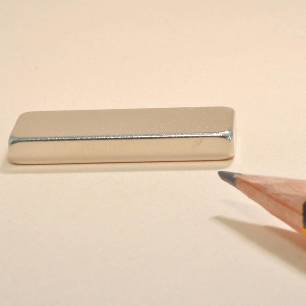 Neodymium Rare Earth Block Magnets N35 30X10X4 - Neodymium Block Magnets