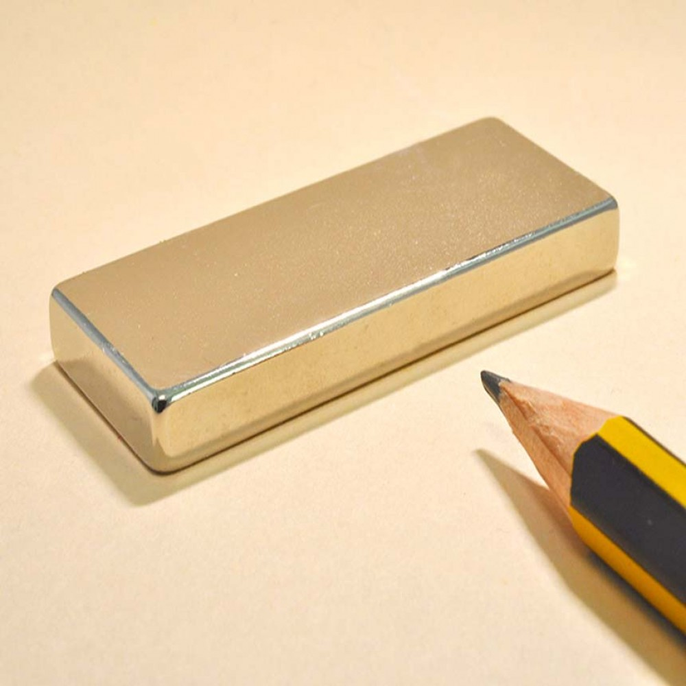 Block Neodymium Powerful Magnets N35 50X20X5 - Neodymium Block Magnets