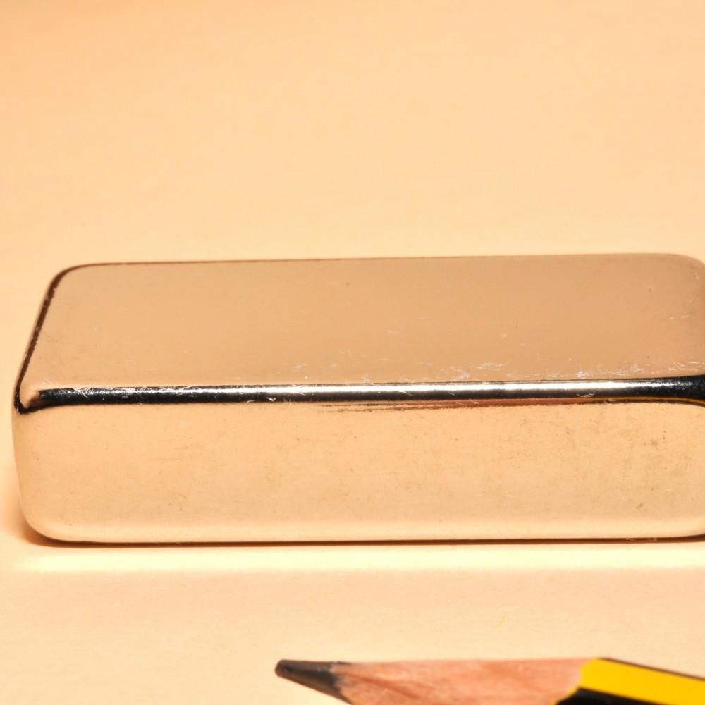 Rectangular Block Magnet Neodymium N35 40X20X10 - Neodymium Block Magnets