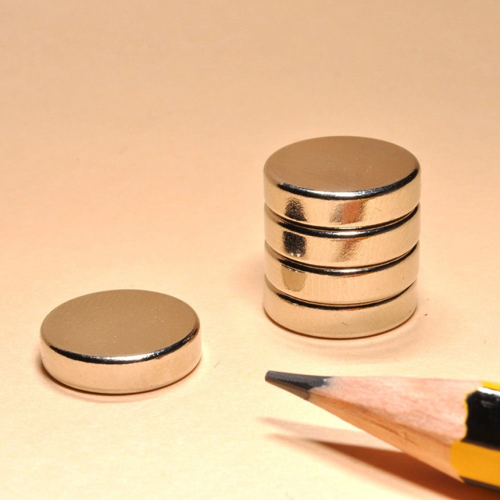 Rare Earth Neodymium Disc Magnets N35 D12x4 - Neodymium Disc Magnets