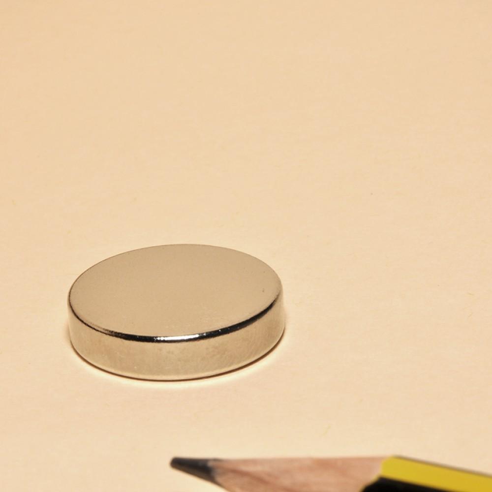 Round Disc Magnet Neodymium N48 D18x4 - Neodymium Disc Magnets