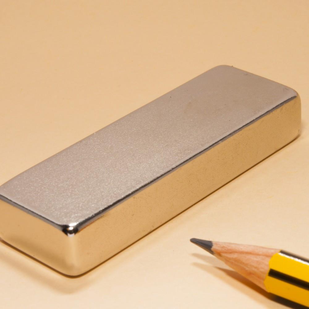 Neodymium Rare Earth Bar Magnet N35 60X20X10 - Neodymium Block Magnets