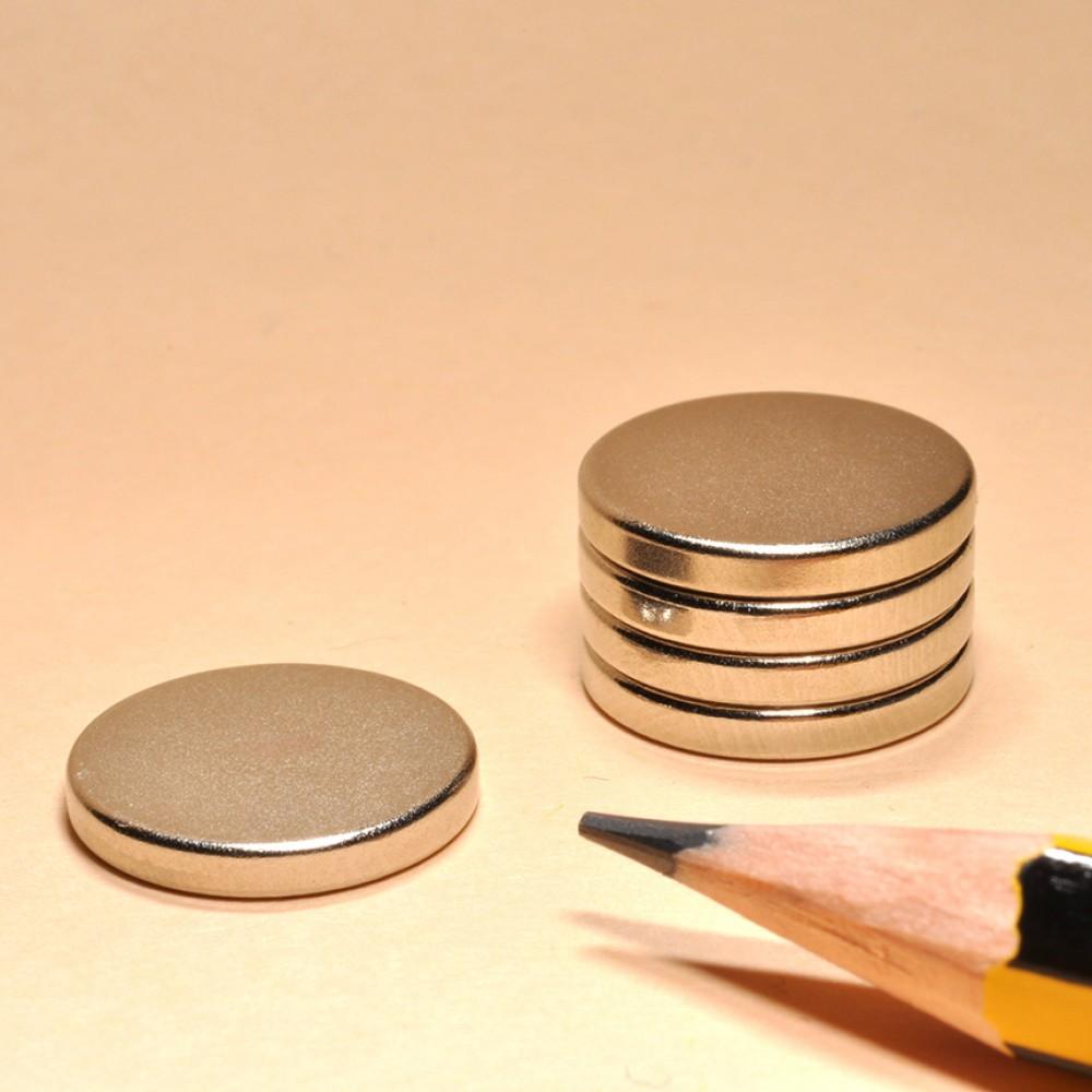 Permanent Magnet Disc-Shaped N52 D14x2 - Neodymium Disc Magnets