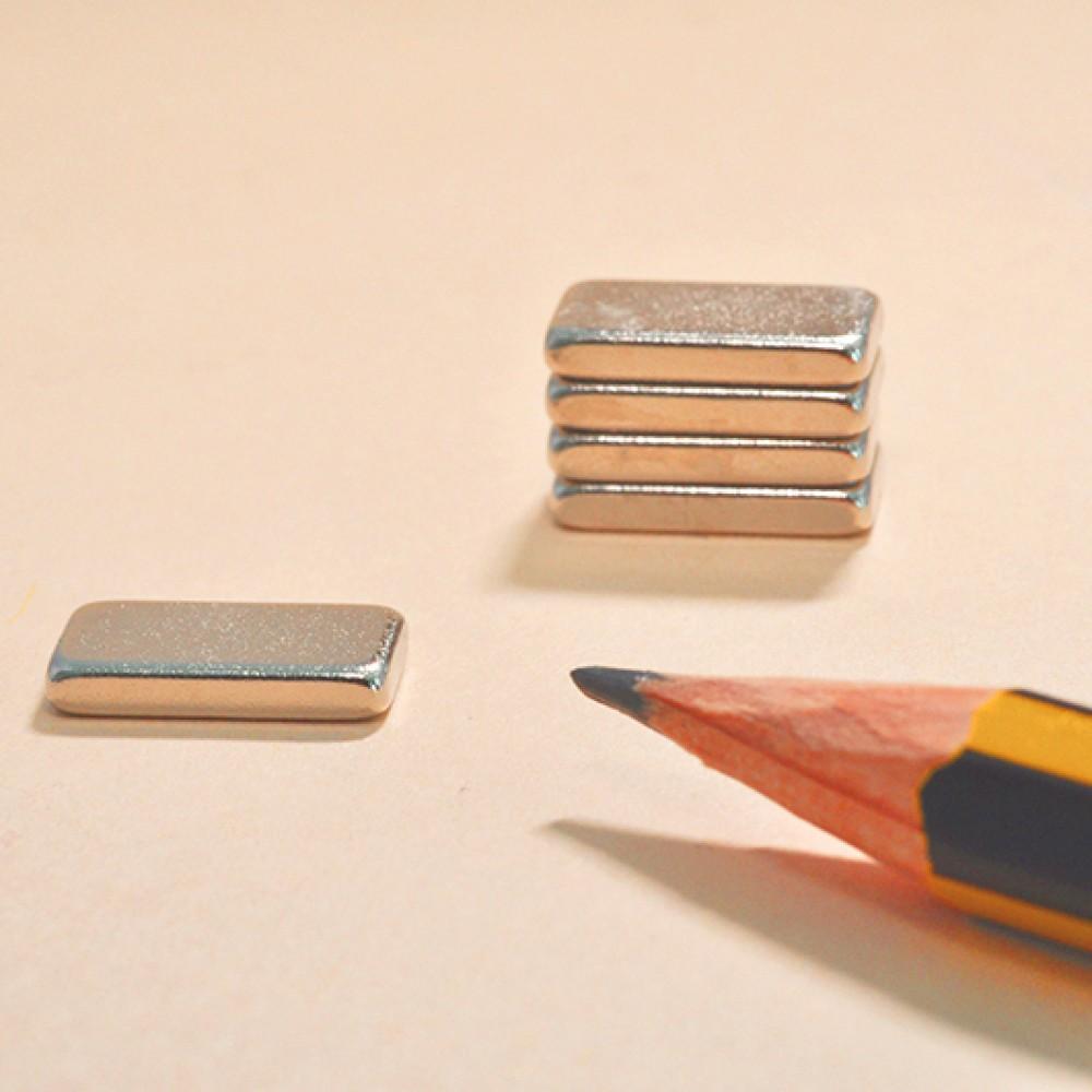 Rare Earth Neodymium Permanent Magnets N35 12X6X2 - Neodymium Block Magnets
