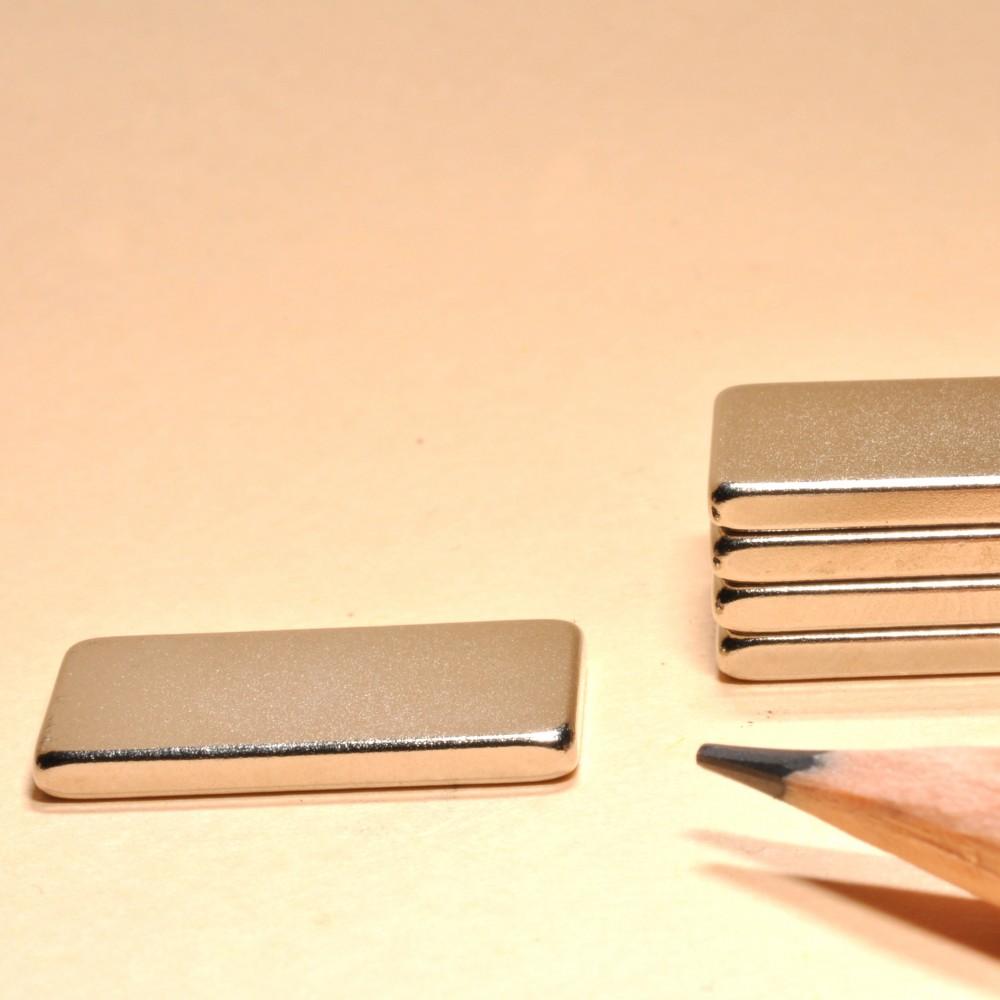 Neodymium Magnet Block N35 20X13X2 - Neodymium Block Magnets