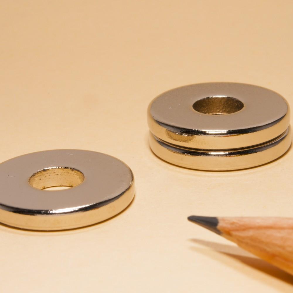 Ring Magnet Neodymium N52 OD20xID7x3 - Neodymium Ring Magnets