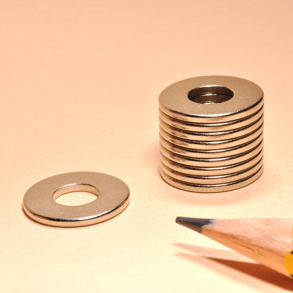 Ring NdFeB Magnet N45 OD14xID6x1.2 - Neodymium Ring Magnets