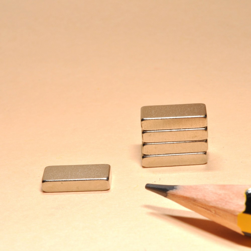 Powerful Block Magnets N35 NI - Neodymium Block Magnets