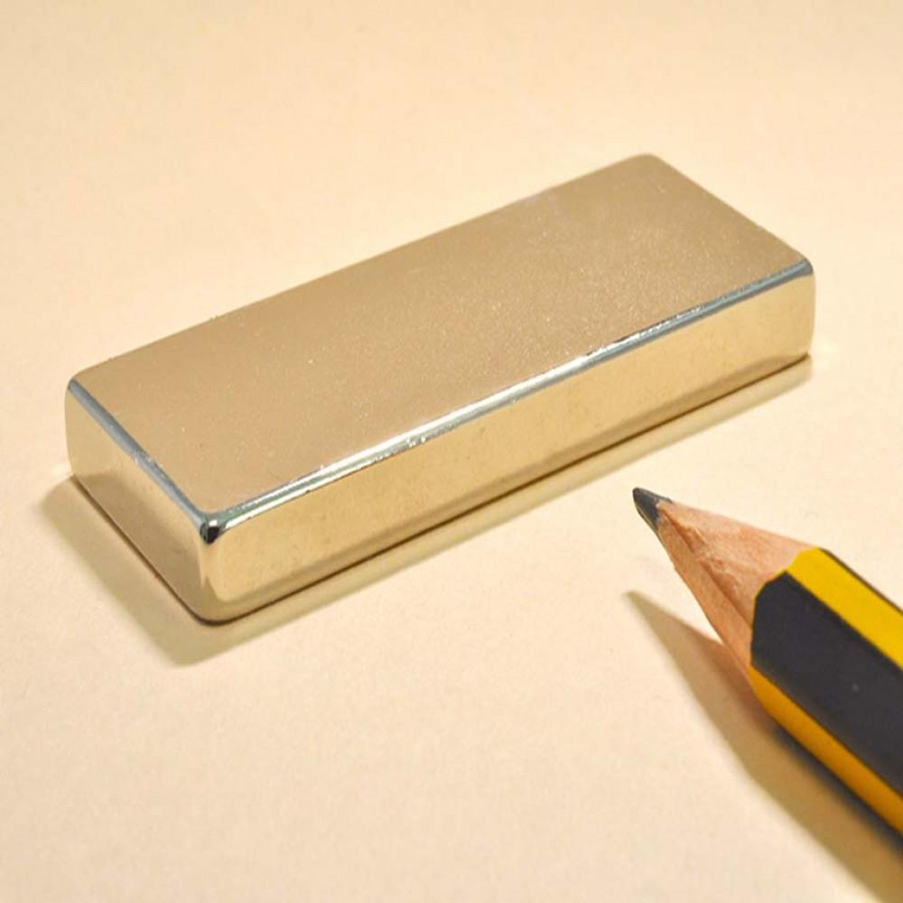 Rectangular Permanent Magnets N35 50X20X5 - Neodymium Block Magnets