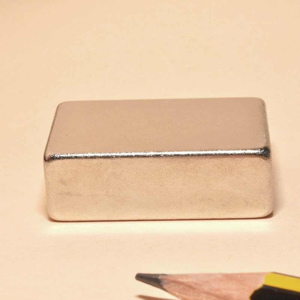 Super Strong Neodymium Magnet Block N35 30X20X10 - Neodymium Block Magnets