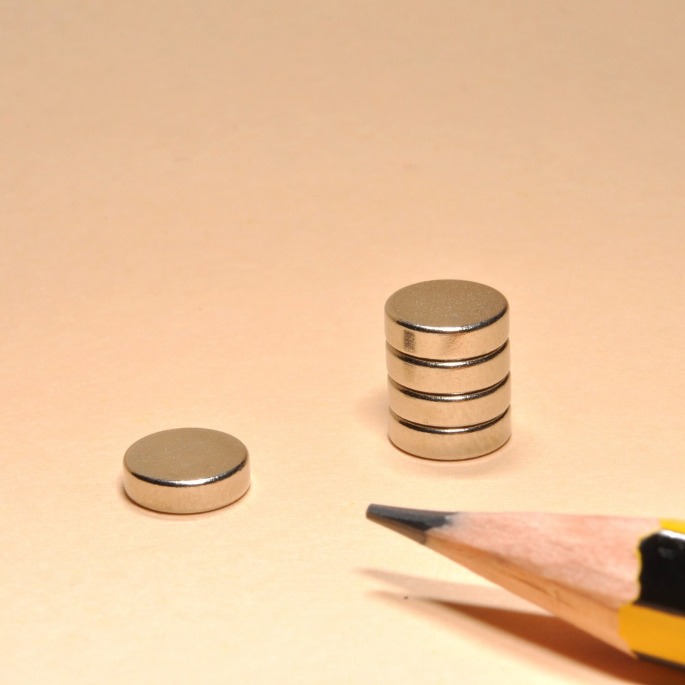 Disc Round NdFeB Neodymium Magnets N35 D7x2 - Neodymium Disc Magnets