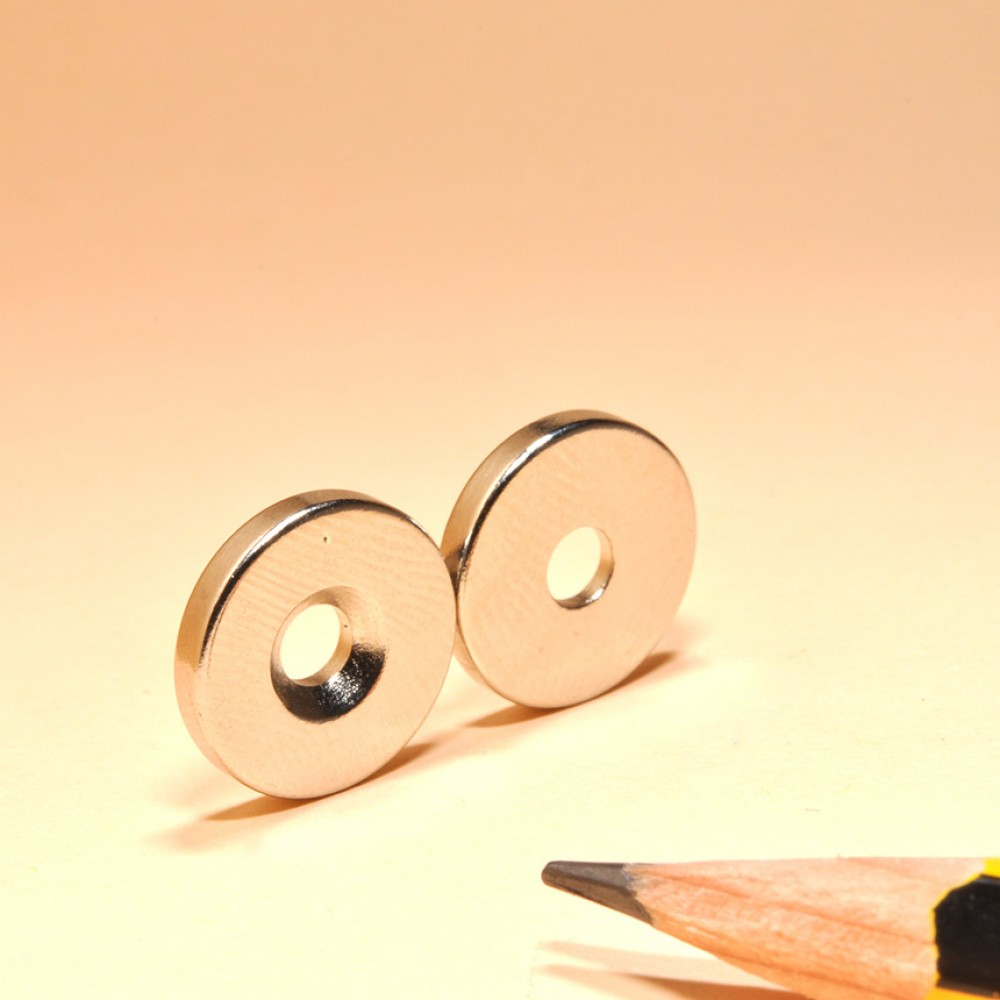 Neodymium Magnets With Countersunk Holes N35 - Neodymium Countersunk Magnets