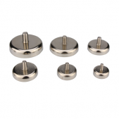 Neodymium Pot Magnets - External Threaded Stud