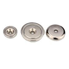 Neodymium Pot Countersunk Magnets