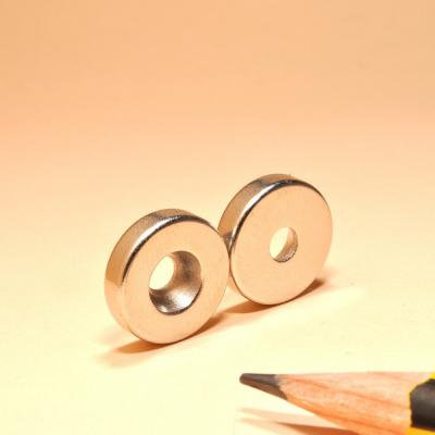Powerful Neodymium Disc Countersunk Magnet N35