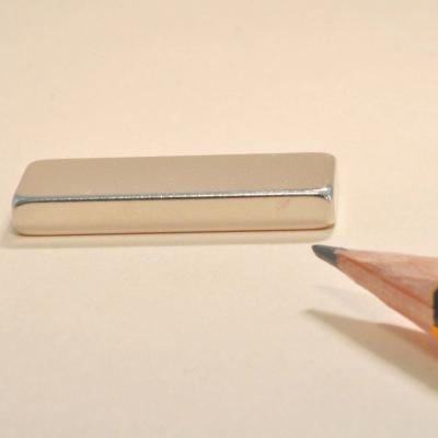 Neodymium Bar Permanent Magnets N35 30X10X5