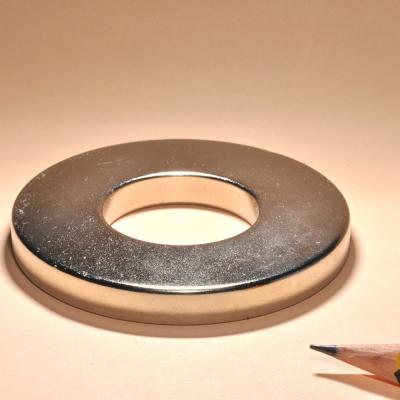 Ring NdFeB Mirco Magnets N35 D90x68x12