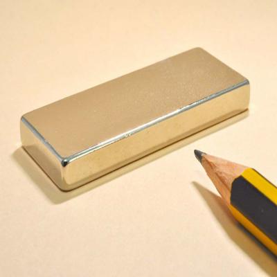 Block Neodymium Powerful Magnets N35 50X20X5