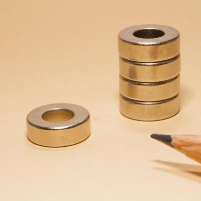 Ring Shaped Neodymium Magnets N48 OD12xID6x4