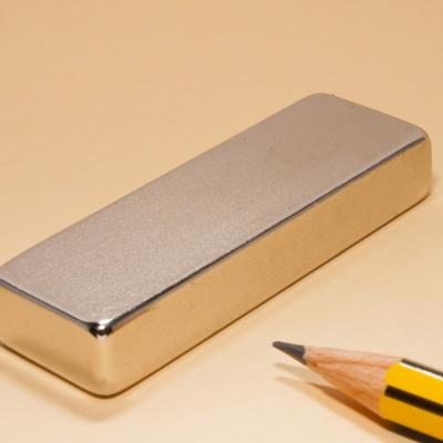 Neodymium Rare Earth Bar Magnet N35 60X20X10
